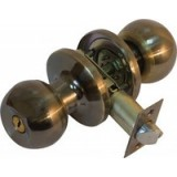 Ручка-кнопка Bruno 607 (3587) AB ант.лат. с ключом (15287)