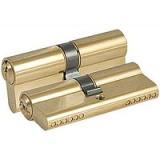 Циліндр KALE 164 BNE 90mm(40 + 10 + 40) латунь