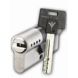 Цилиндр DIN MUL-T-LOCK 7x7 71(31*40)Т зол.
