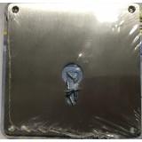 пластина Disec A2502 хром (под цил)