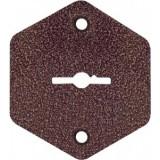 Комплект накладок BORDER НШ.2-020 (70045) к замку ЗВ8/8Д