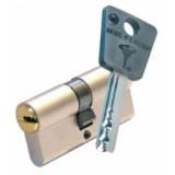 Цилиндр DIN MUL-T-LOCK 7x7 54(27*27)Т зол.
