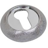 Накладка Firenze Luxury RY 25 матовое серебро/хром